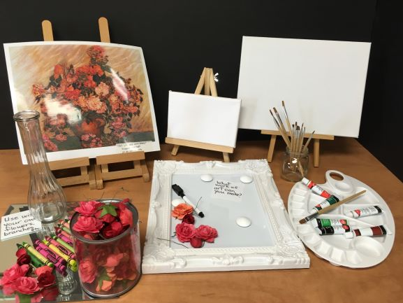 Art Canvas and Materials
