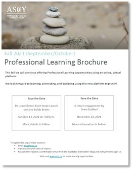 Professional Learning Brochure